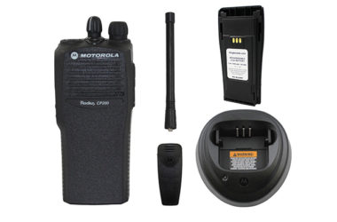 Motorola CP200D Walkie TalkiesDaily Rate: $10.00